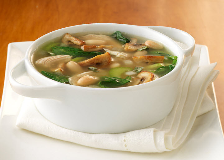 Грибной суп из подосиновиков