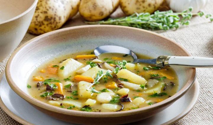 грибной суп со свежими грибами