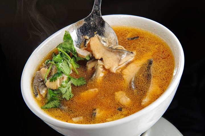 Вариант супа из подберезовиков