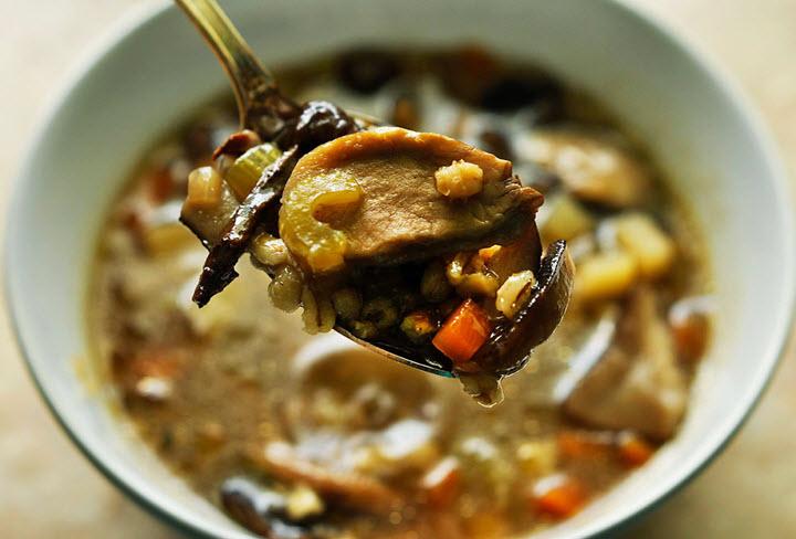 простой рецепт супа из грибов вешенки