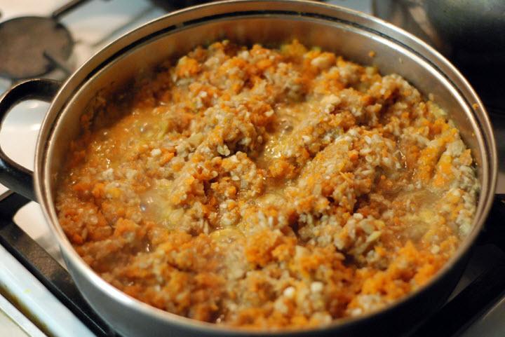 рецепт грибной икры с чесноком и помидорами на зиму