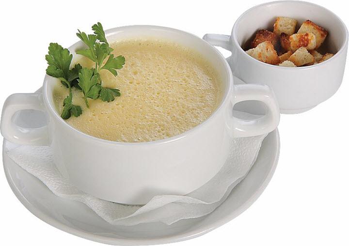 Сырный суп из шампиньонов