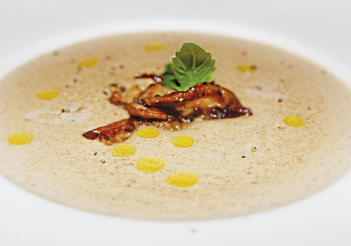 Вариант крем супа с белыми грибами