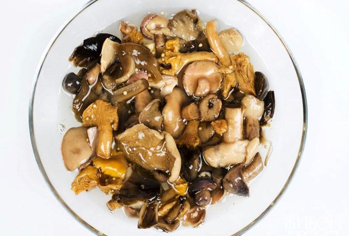 Блюда из сушеных грибов рецепты с фото