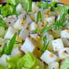 Готовим вкусный салат с солеными груздями