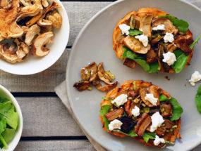 Закуски с белыми грибами